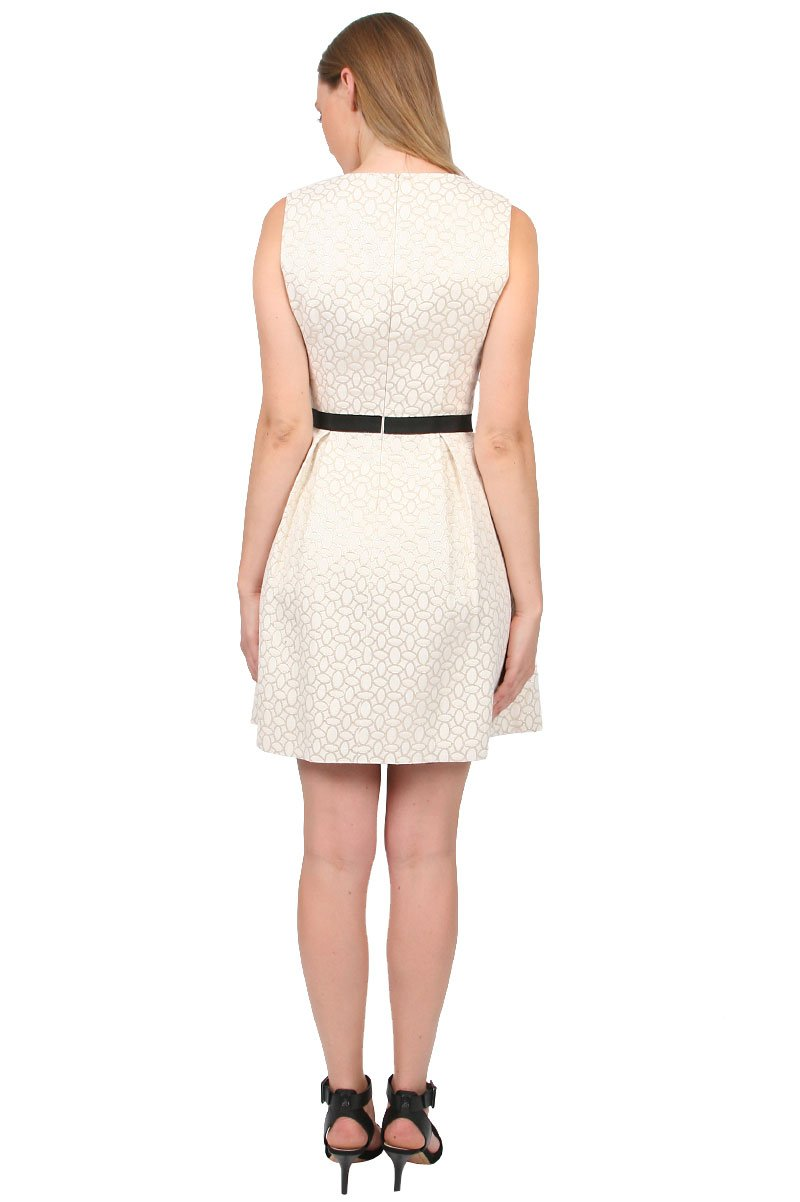 Erin By Erin Fetherston Alice Fit And Flare Dress In White
