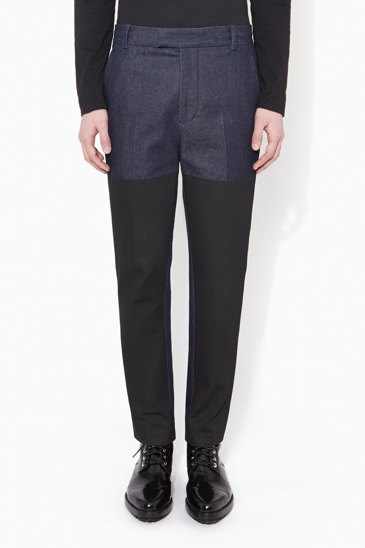 Lyst - 3.1 Phillip Lim Saddle Pant in Blue for Men