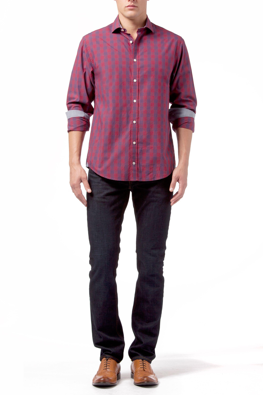 Tommy Hilfiger Otmar Check Classic Fit Long Sleeve Shirt