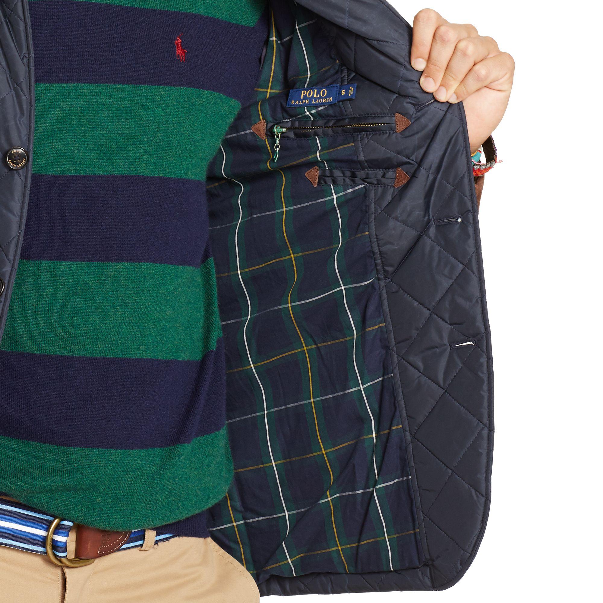 blog walking men mens jacket ralph quilt new fashion quilted lauren s