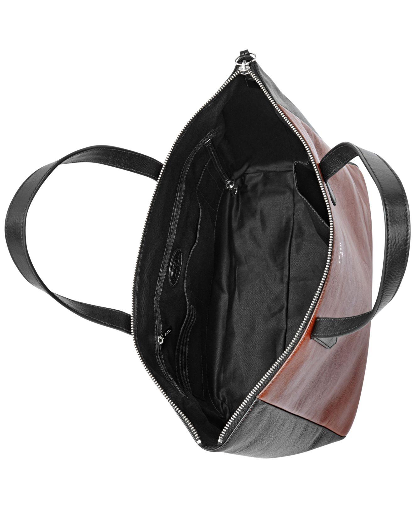 Fossil Sydney Shopper Brown Zb 5491200 Daftar Harga Terlengkap Dawson Multifunction Black Sl 6675001 Jual Tas Source Raisin Patchwork Leather