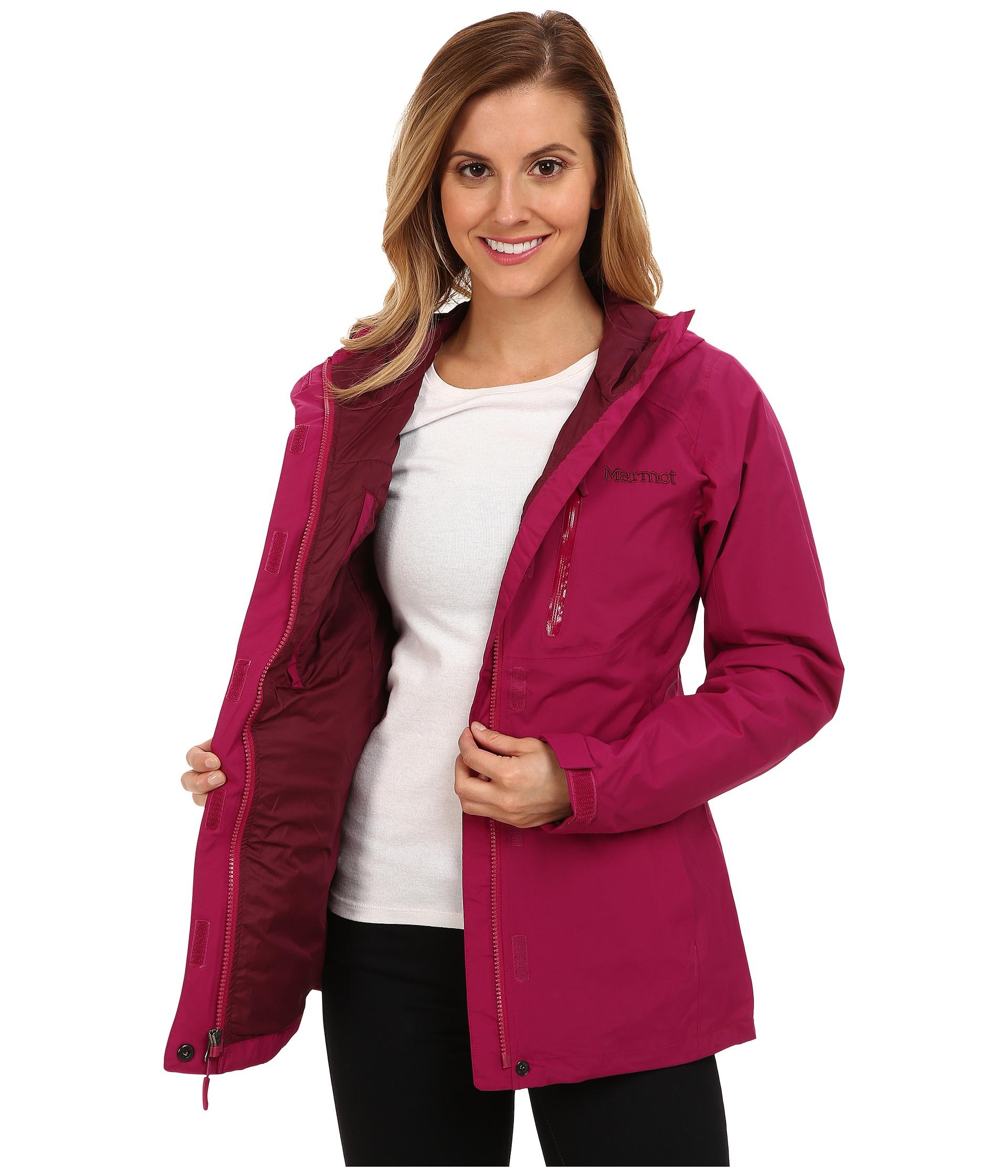 Lyst - Marmot Rincon Jacket in Purple 67eeda261