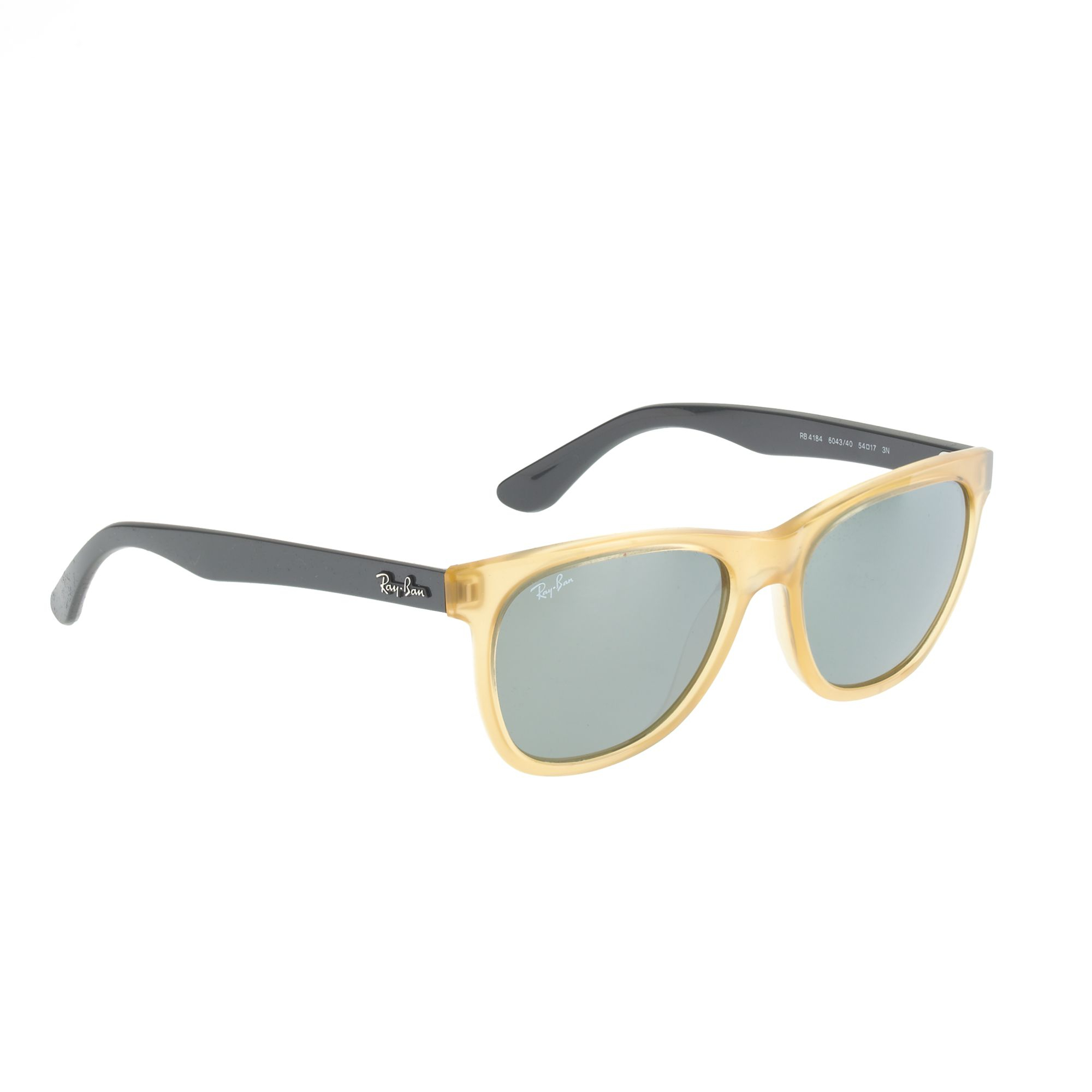 ray ban wayfarer sunglasses with mirror lenses in yellow mirror lens lyst. Black Bedroom Furniture Sets. Home Design Ideas