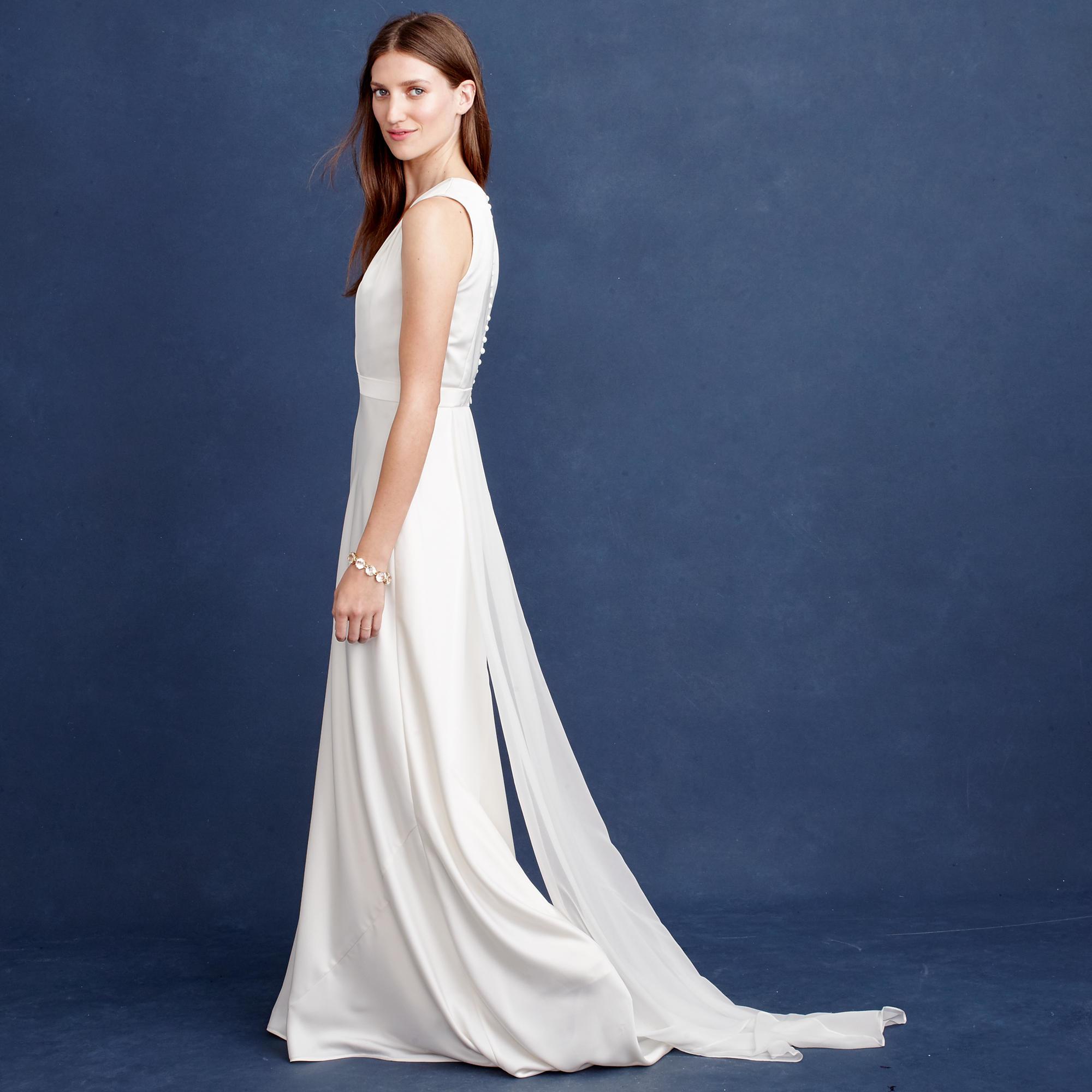 Lyst - J.Crew Lana Gown in White