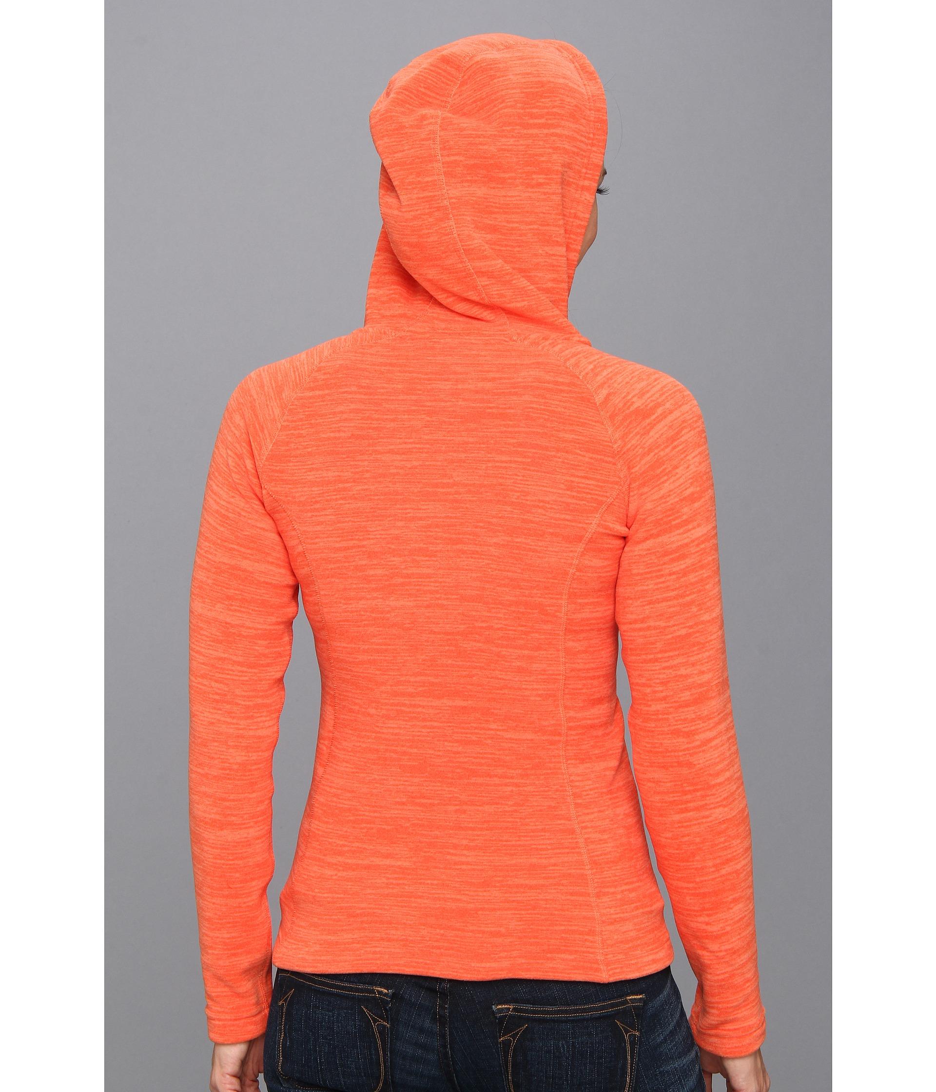 05923b68b The North Face Orange Stria Mezzaluna Hoodie