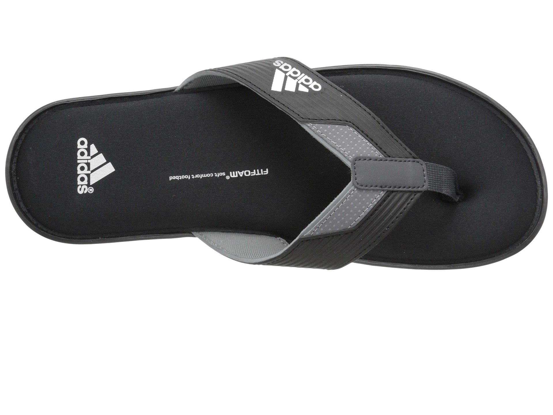 a29167257c22 Lyst - adidas Viveup Thong Ff in Black for Men