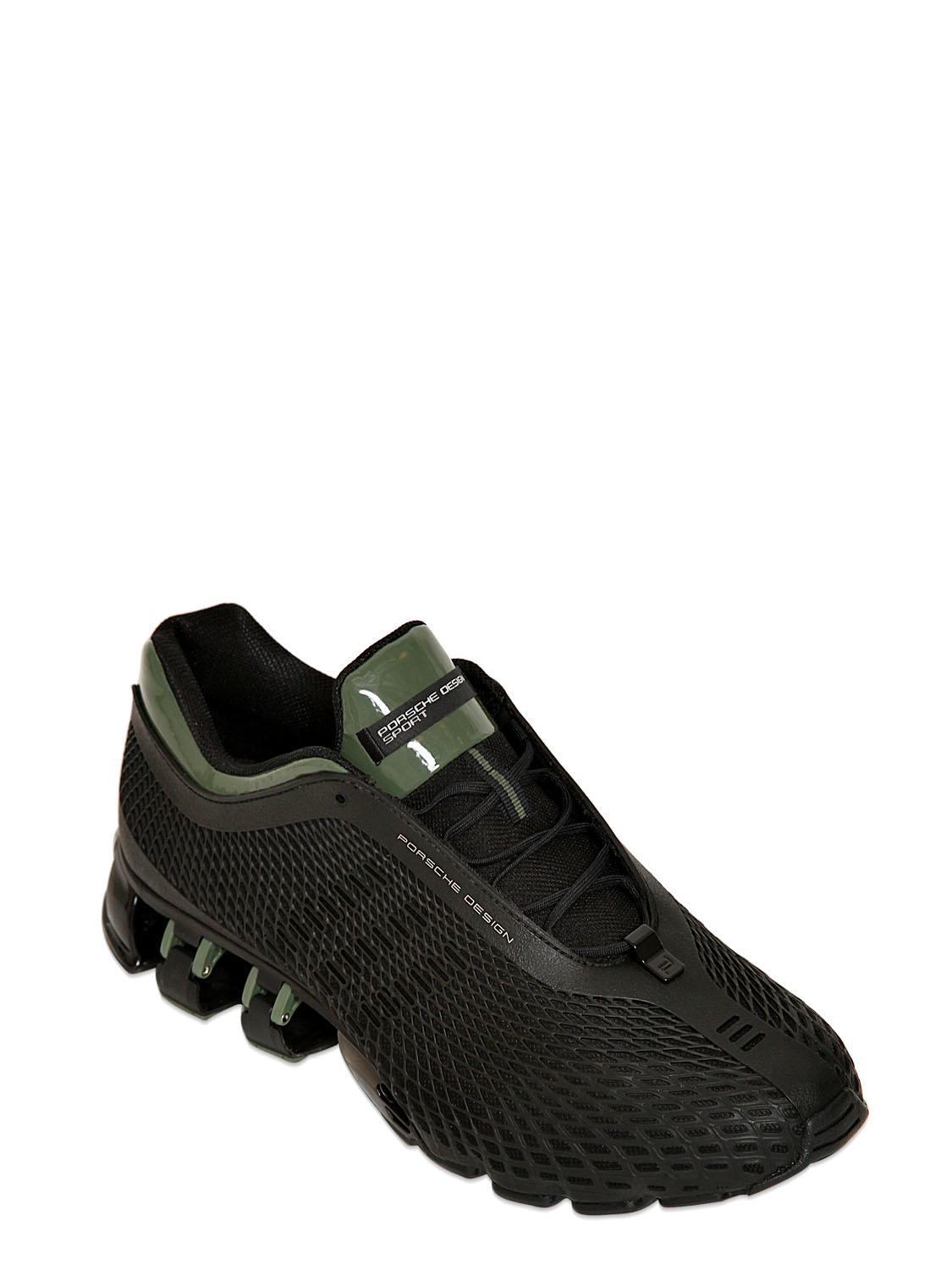 separation shoes e5b20 5f749 Porsche Design Black Run Bounce S2 Superior Running Sneakers for men