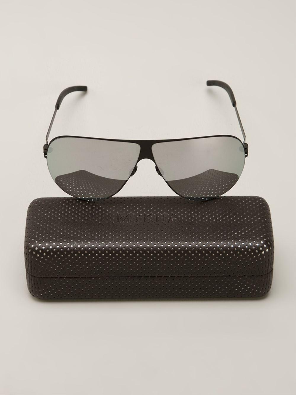 c6d5738837 Lyst - Mykita Elliot Sunglasses in Black for Men