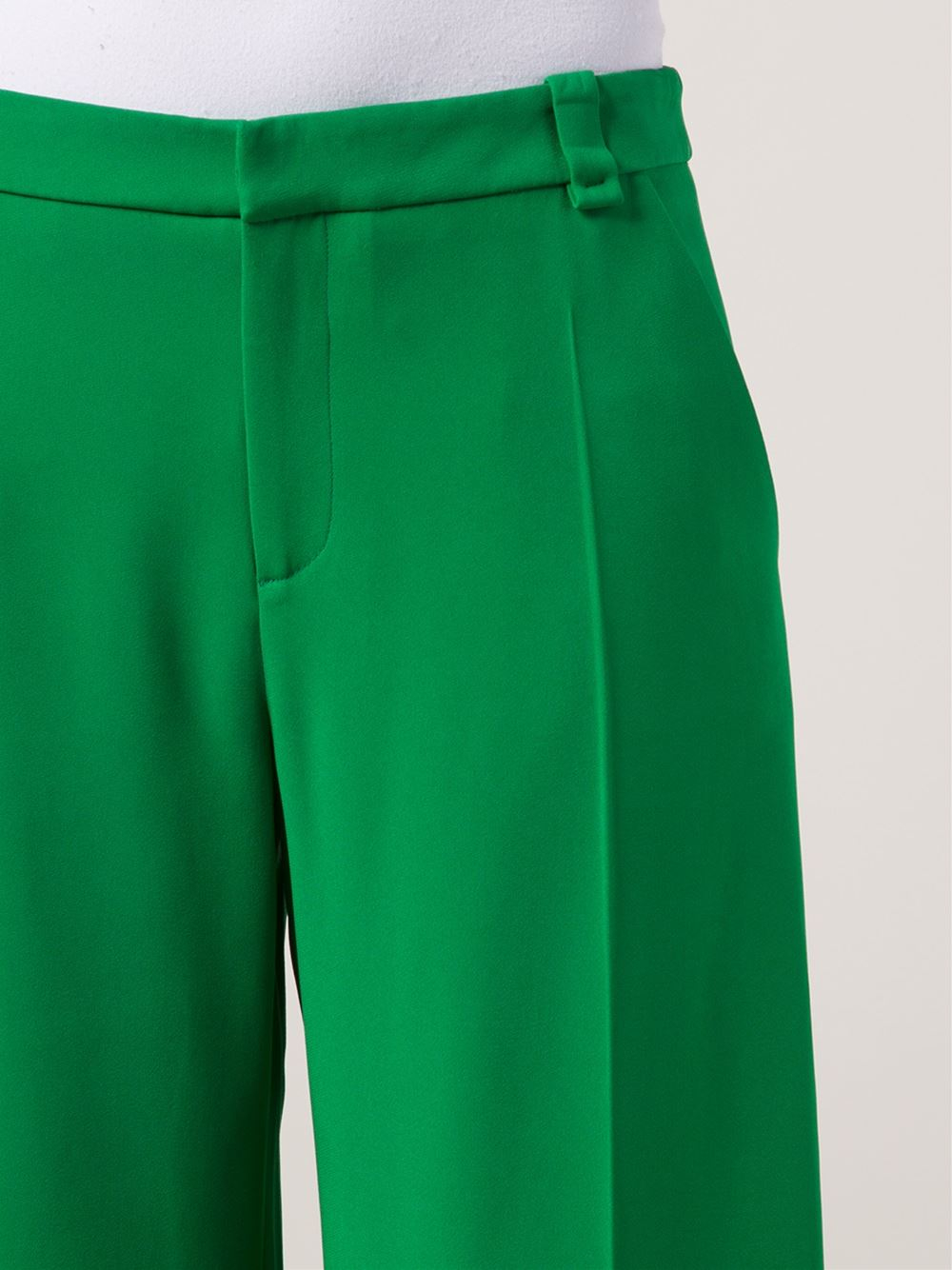 Lyst Roland Mouret Rew Trousers In Green
