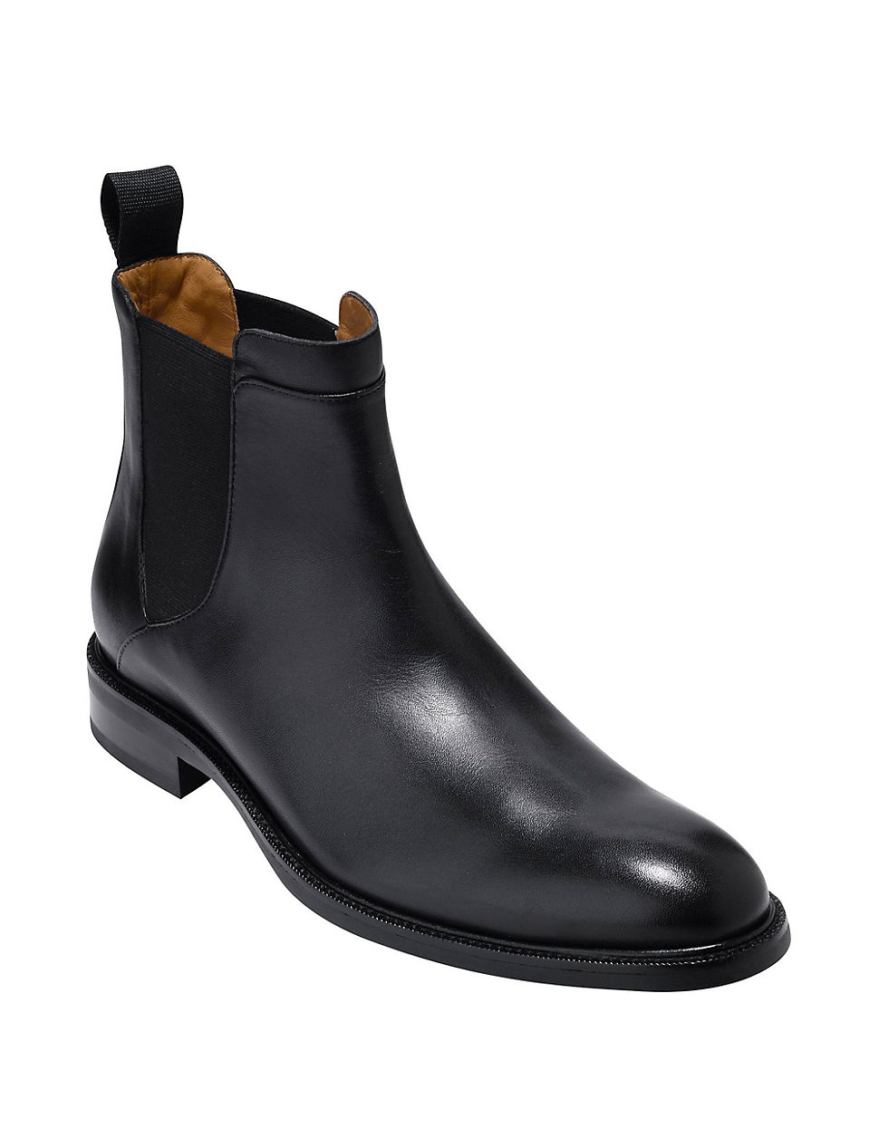 Cole Haan Warren Waterproof Leather Chelsea Boots For Men