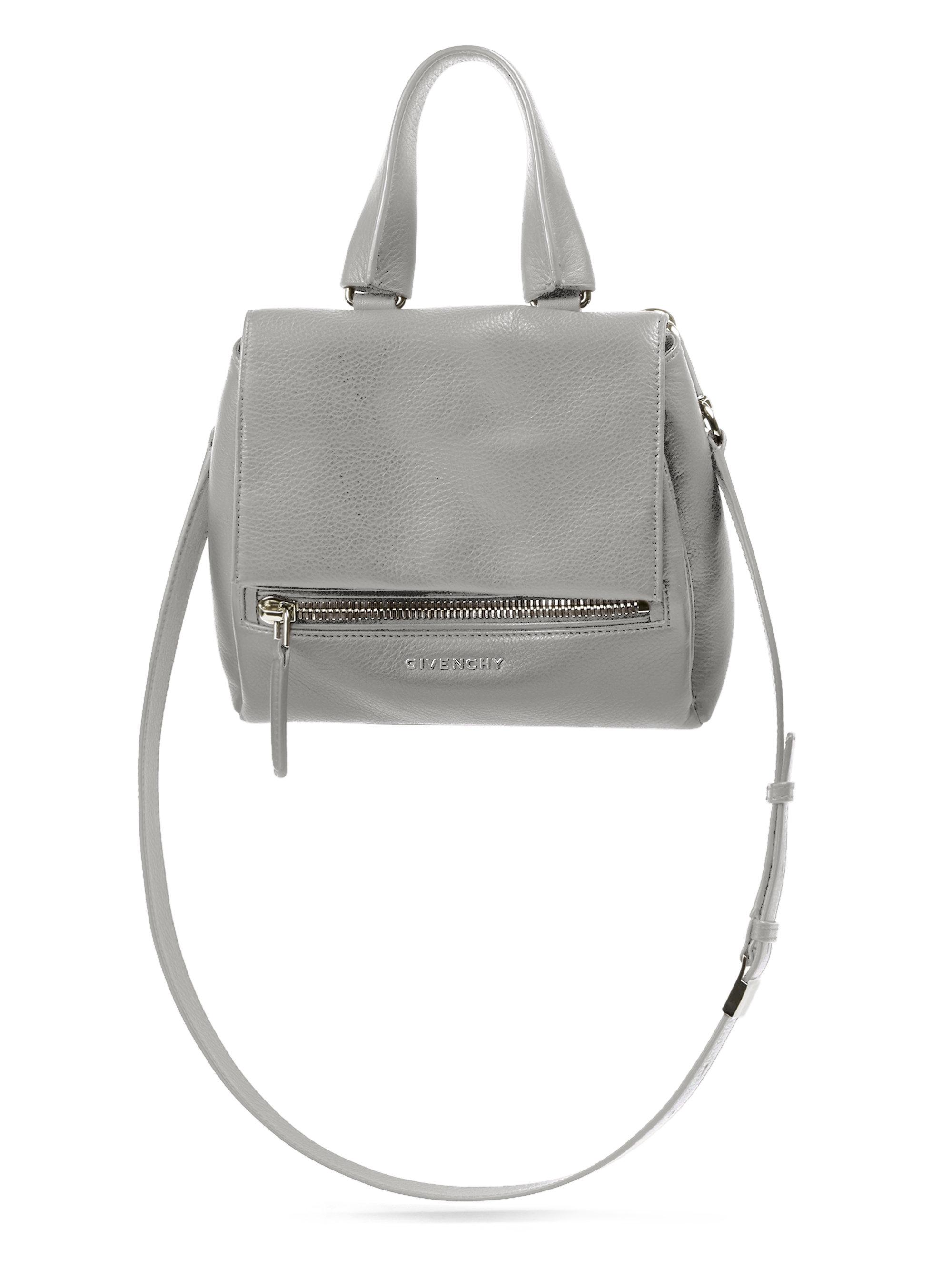 0f022f4c7ef ... Lyst - Givenchy Pandora Pure Mini Shoulder Bag in Gray new york 88838  2580f