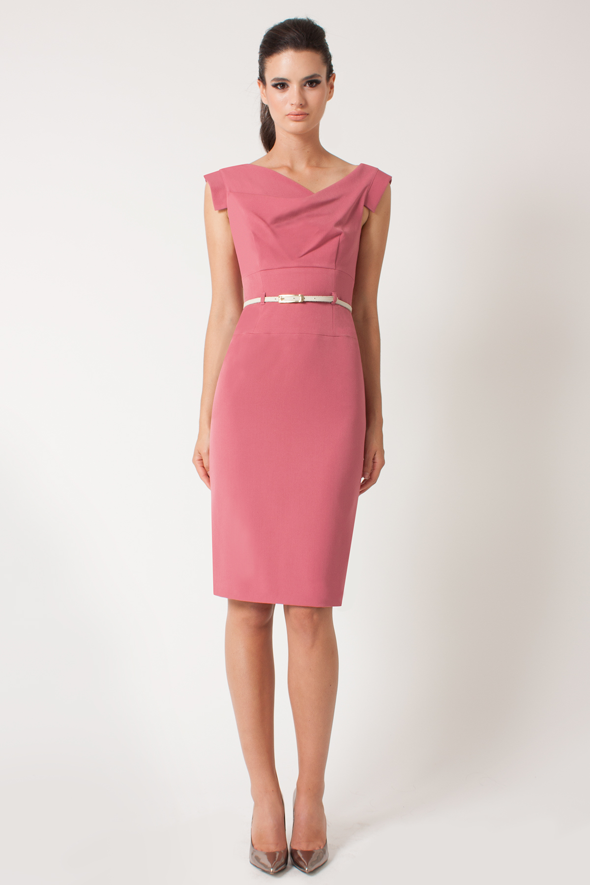 Lyst Black Halo Classic Jackie O In Pink