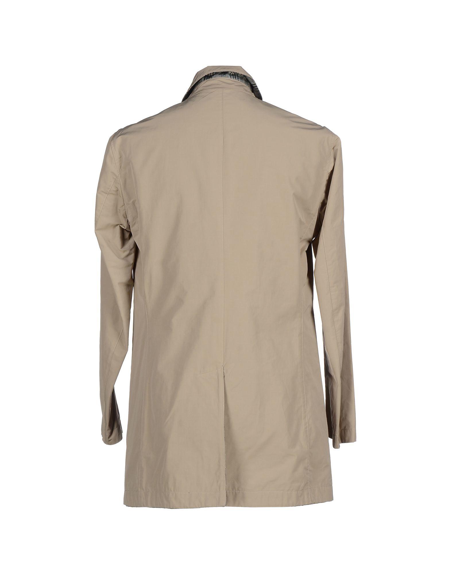 Aquarama Cotton Full-length Jacket in Sand (Natural) for Men