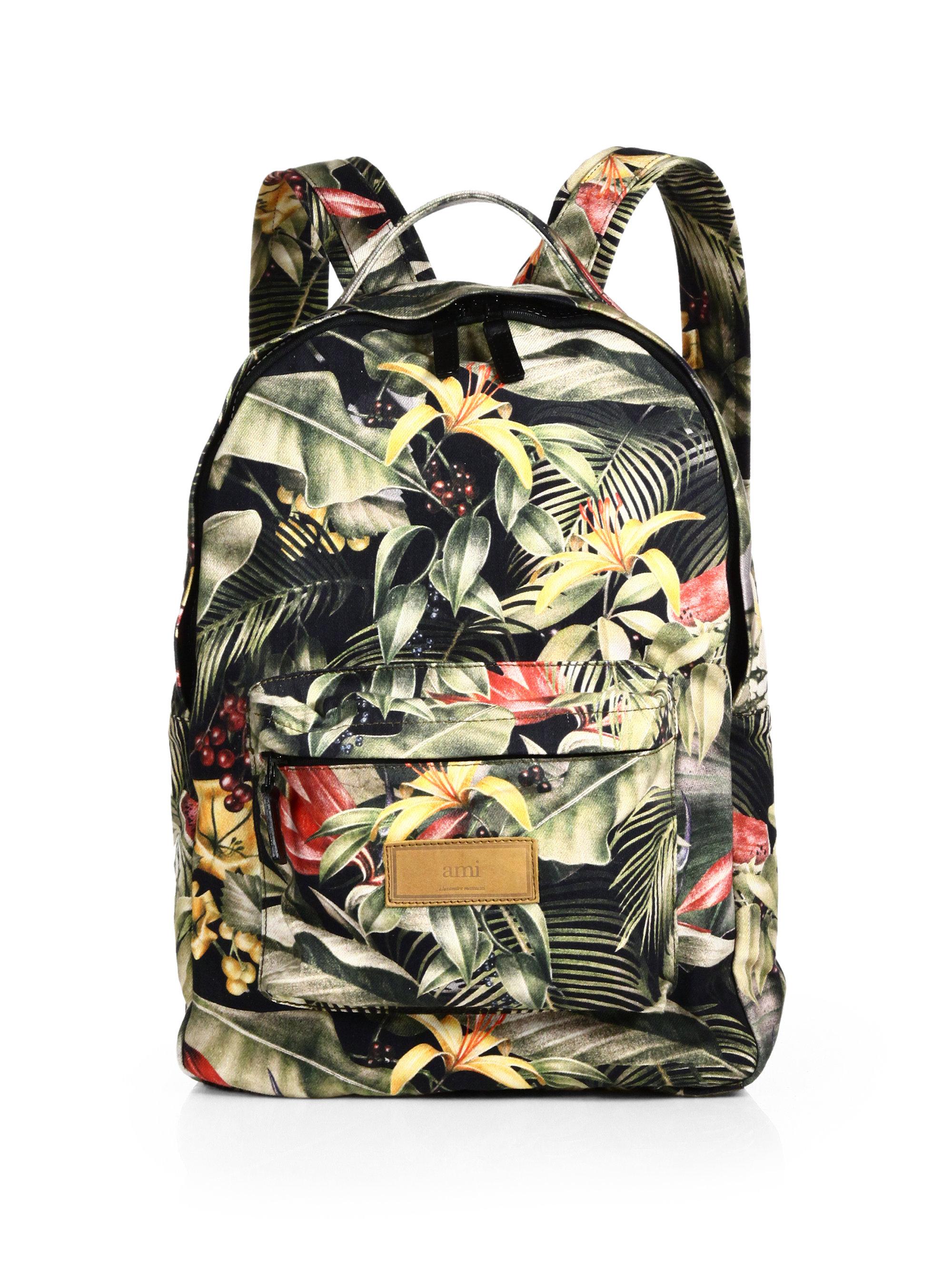 Ami Floral Backpack for Men | Lyst