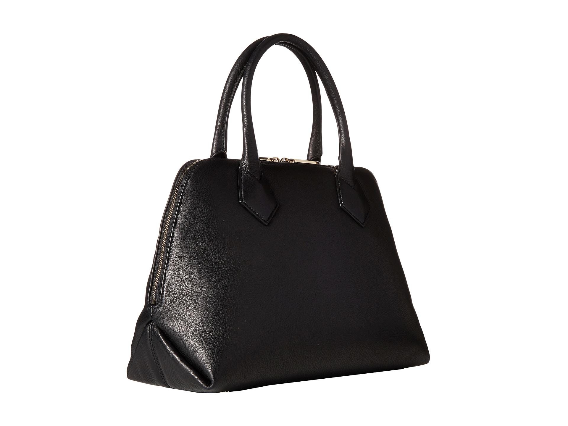 1108ddd2a5 Vivienne Westwood Spencer Handbag in Black - Lyst