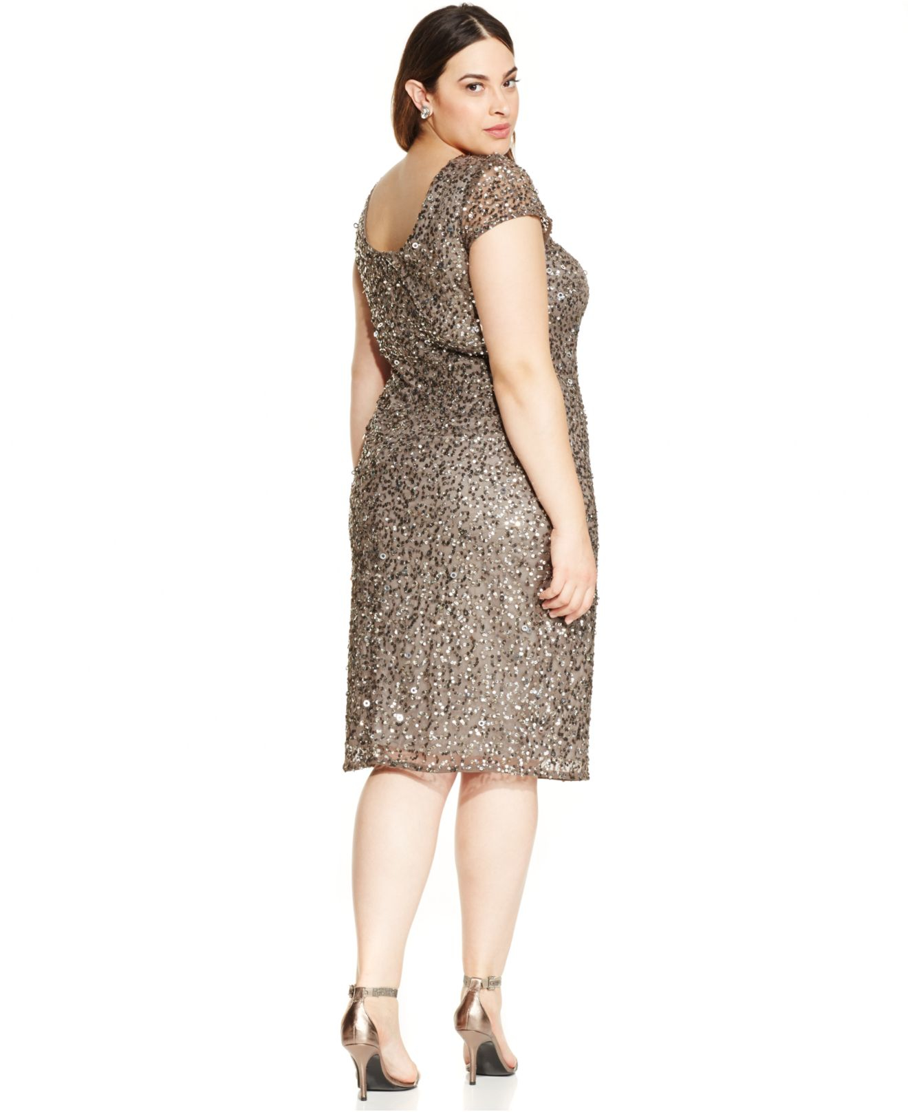 Adrianna Papell Plus Dresses