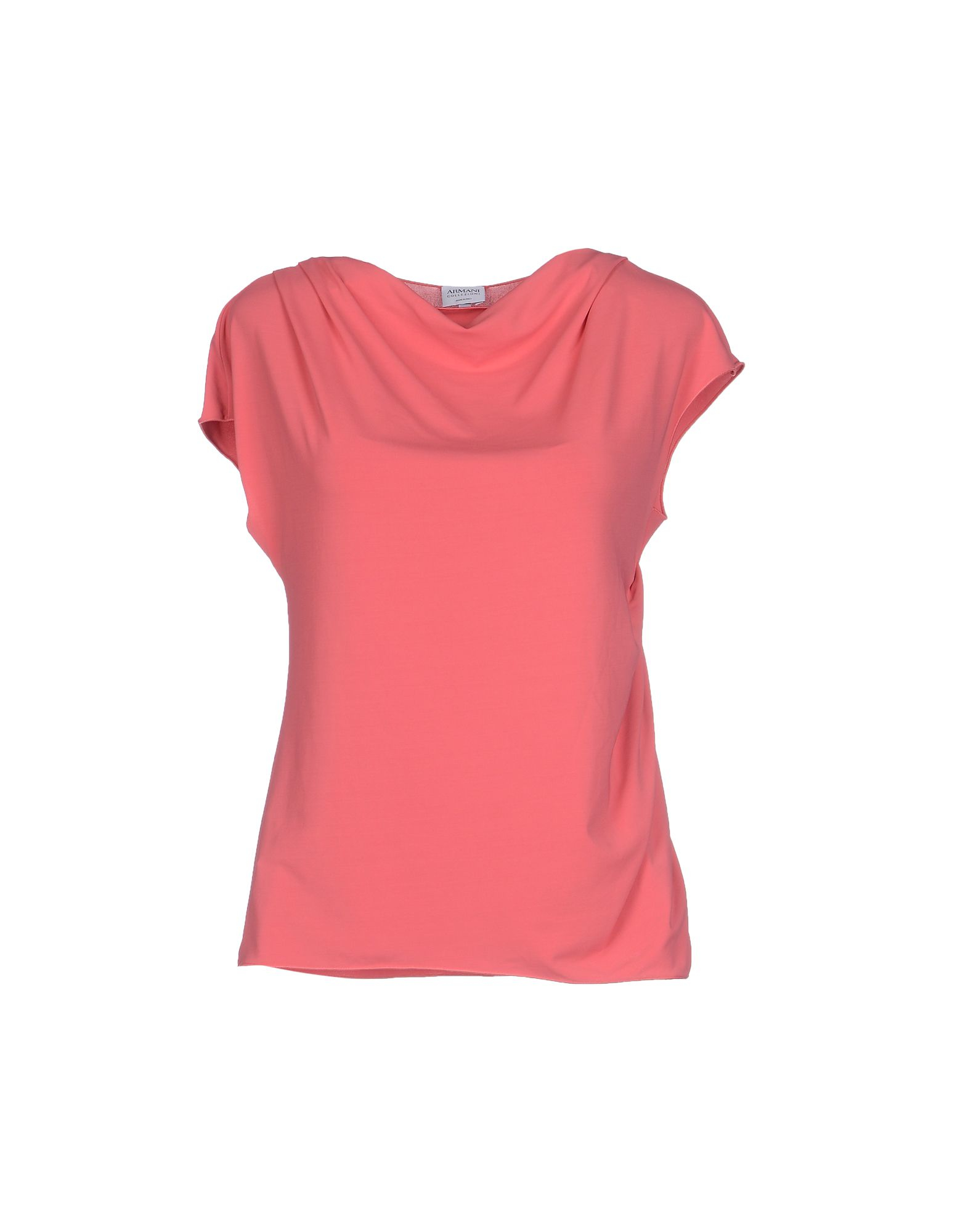 Lyst Armani T Shirt In Pink