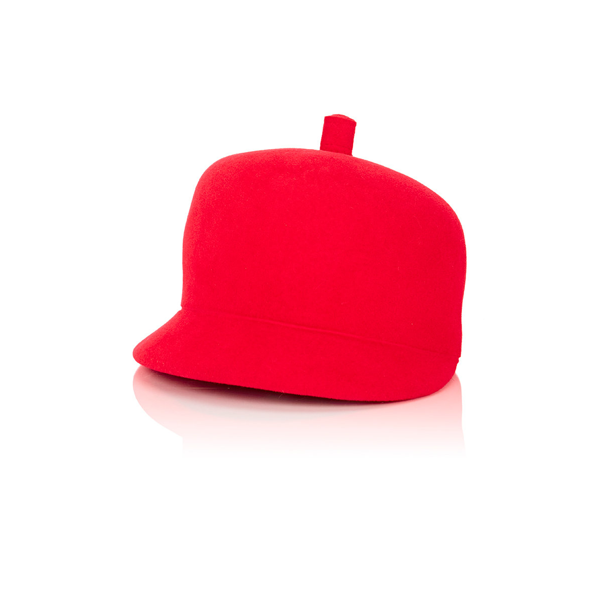 Lola Hats Felt Cap In Red Lyst