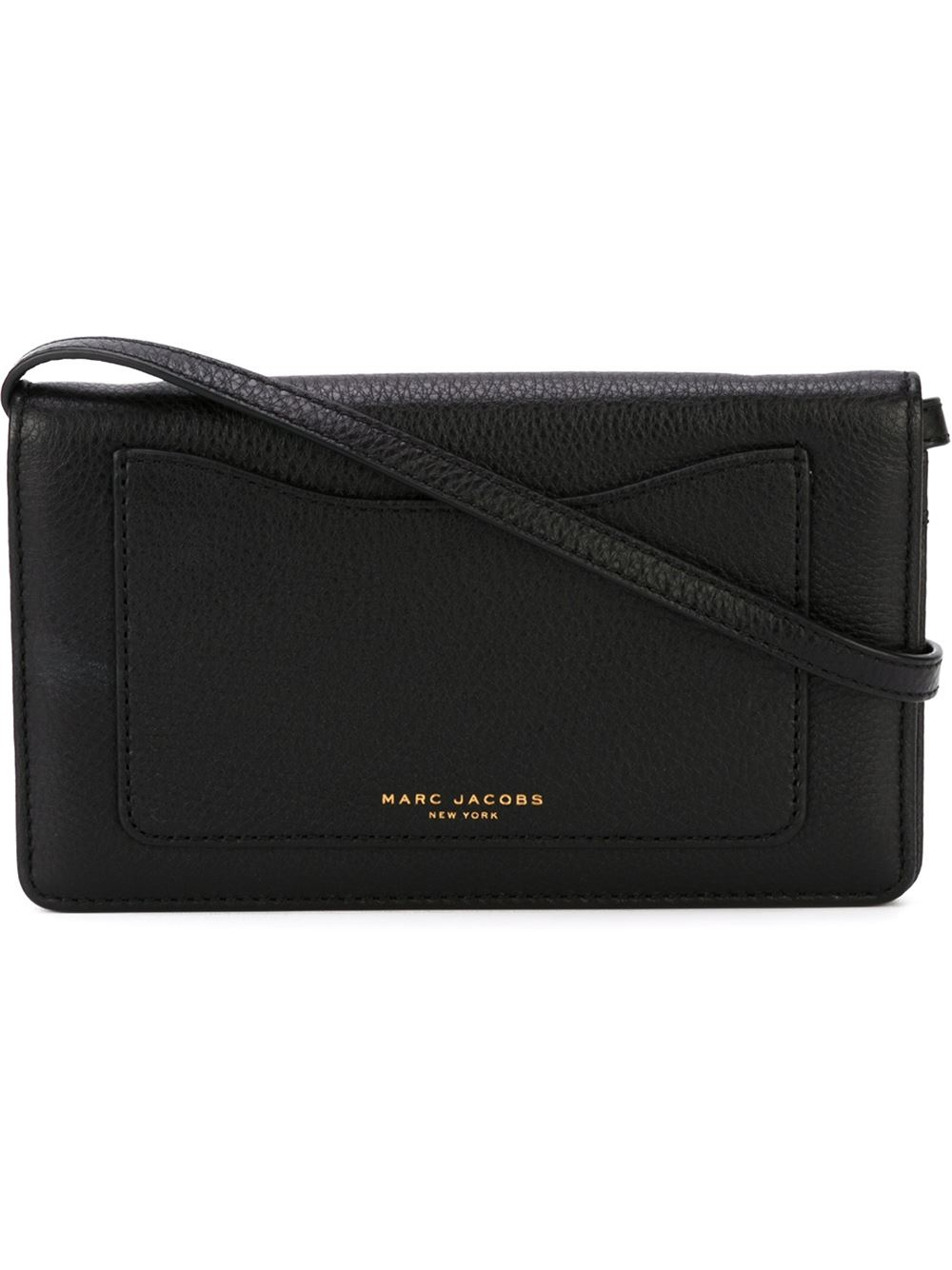 3536f8e7b1b0 Lyst - Marc Jacobs  recruit  Crossbody Bag in Black