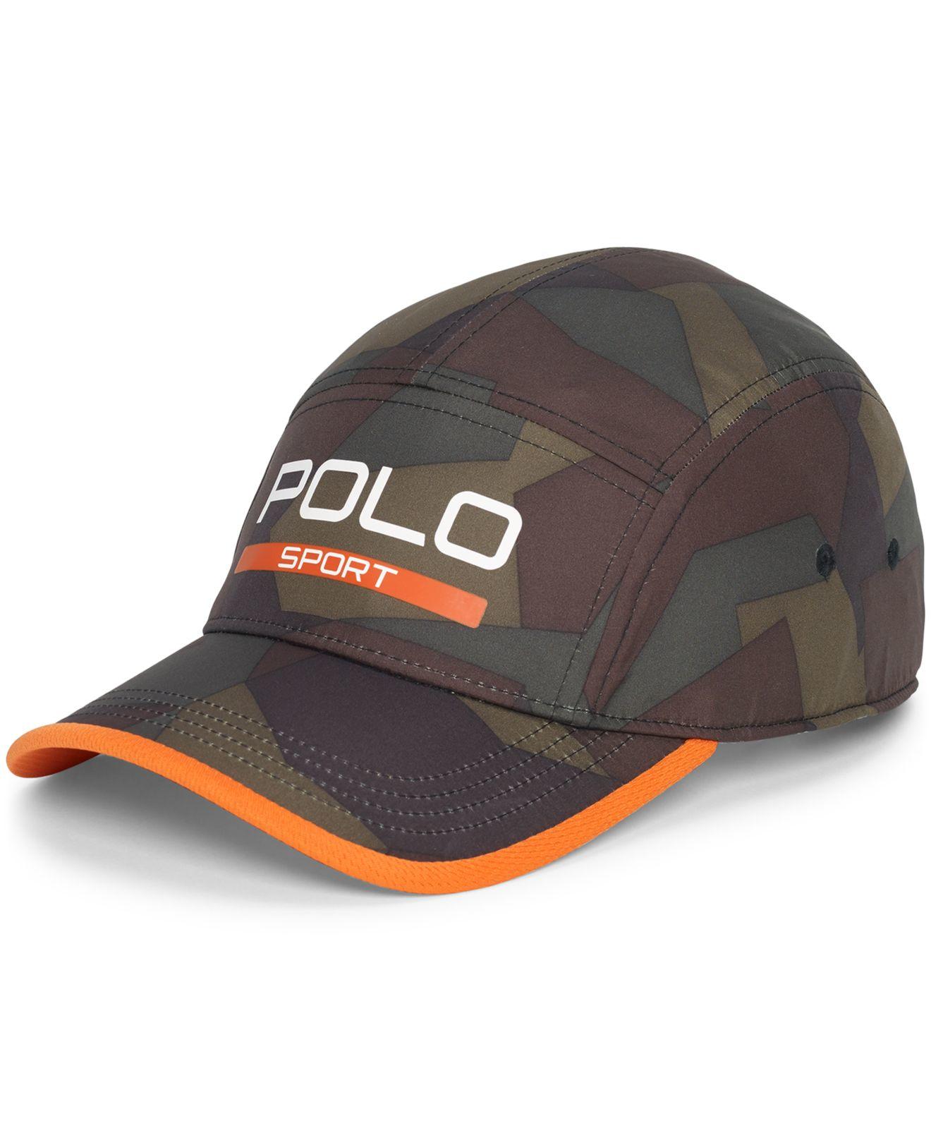 01f536906ea Lyst - Polo Ralph Lauren Polo Sport Men s Camouflage Performance Cap ...