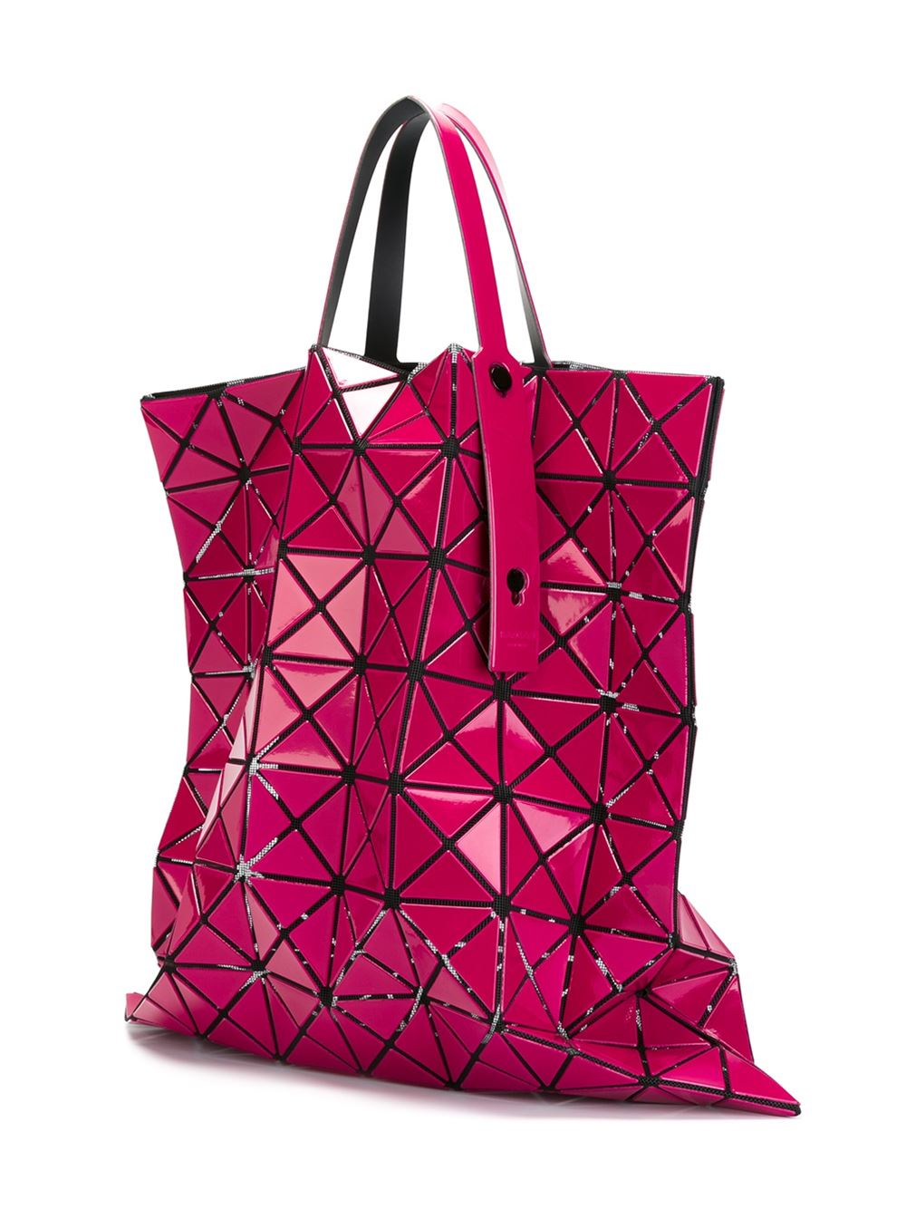 Bao Bao Issey Miyake 'lucent-2' Tote in Pink & Purple (Purple)