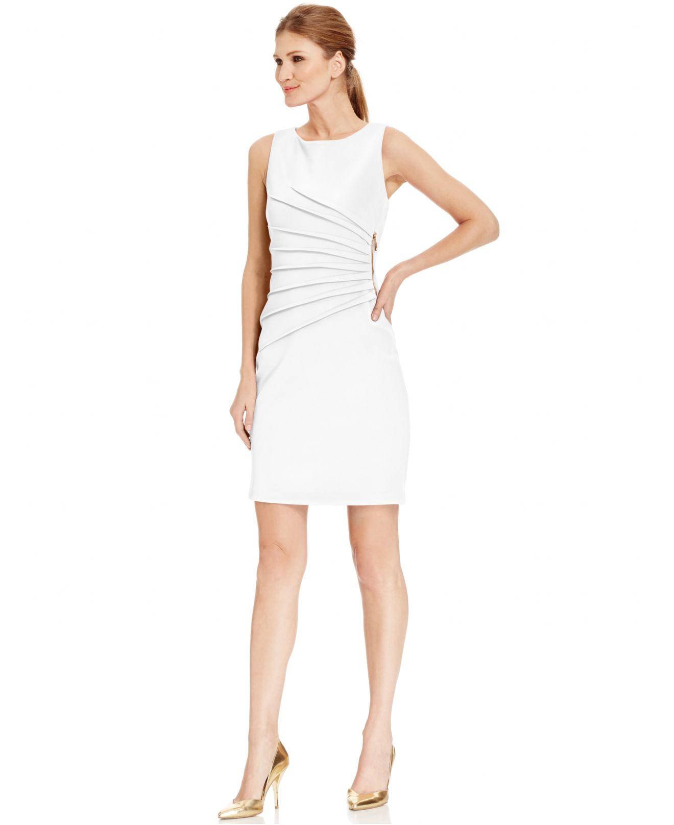 Ivanka trump Pleated Z... Ivanka Trump Dresses