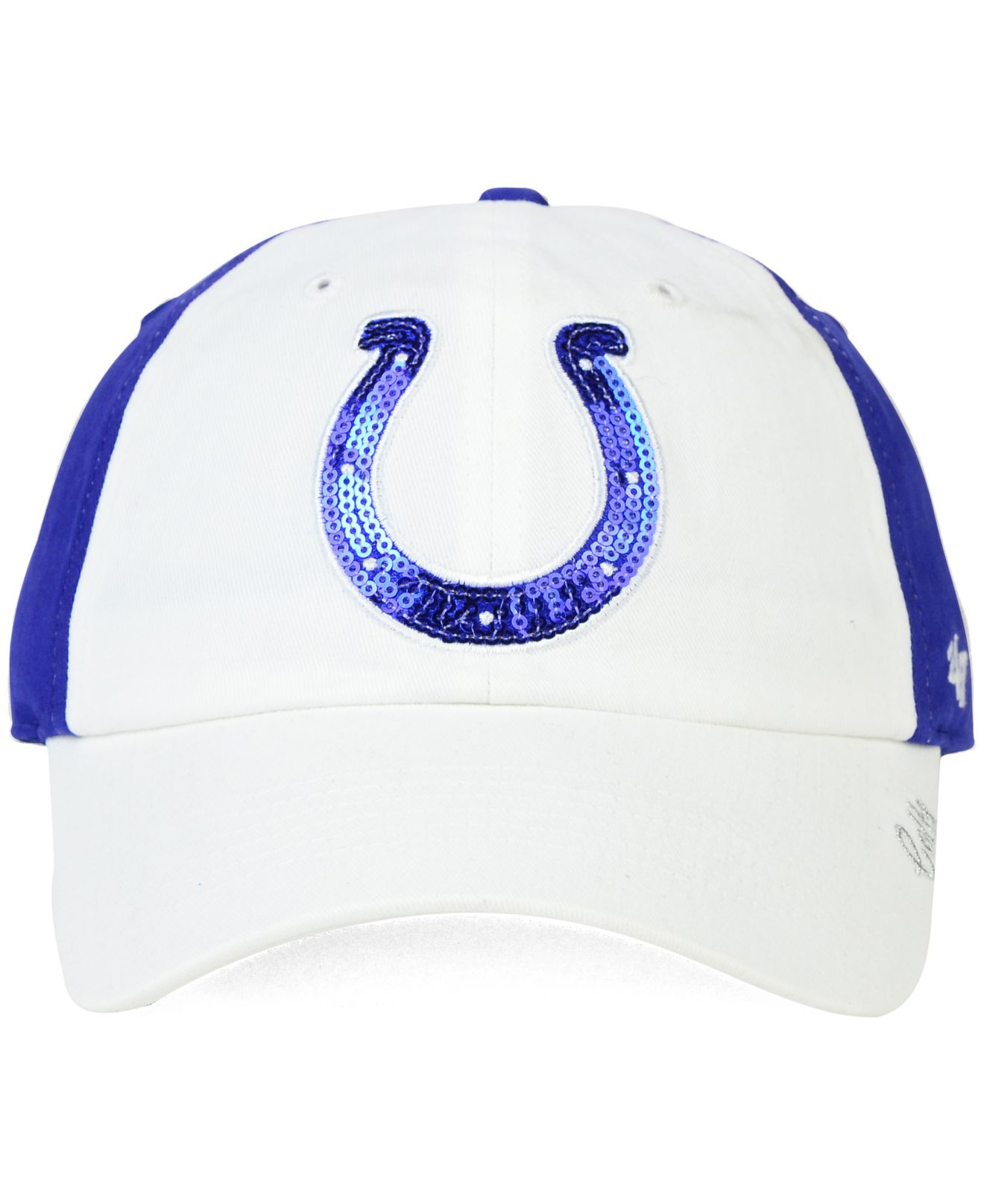 release date 149bb 76baf Lyst - 47 Brand Women s Indianapolis Colts Sparkle 2-tone Adjustable ...