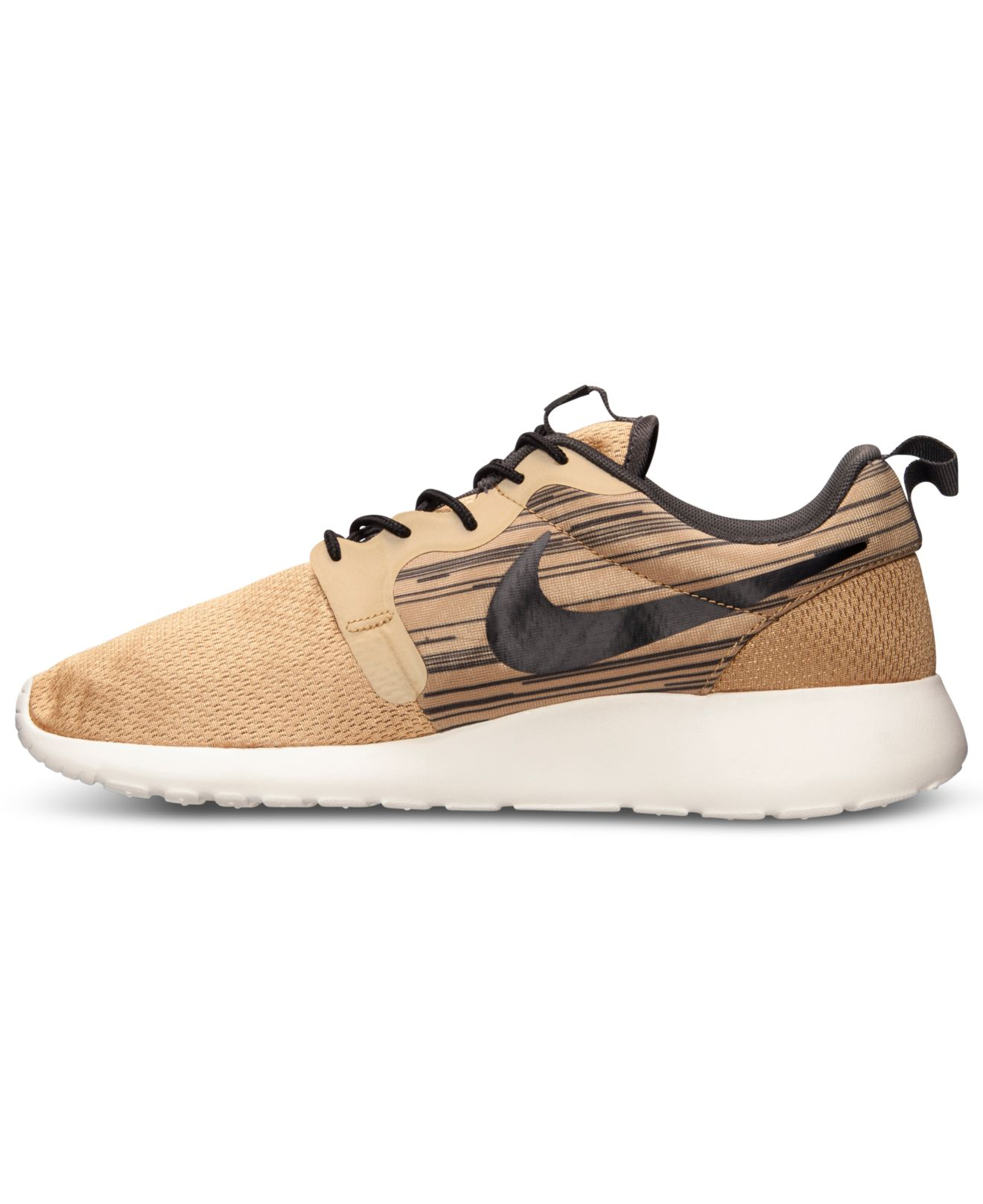 nike s roshe run hyperfuse casual sneakers from finish