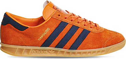 Hamburg Leather And Suede Low-top Trainers