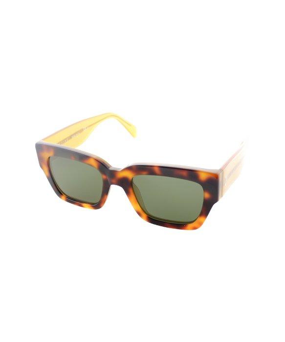 9e9768d5b4ed Lyst - Céline Cl 41078 s J1m Havana Honey Square Plastic Sunglasses ...
