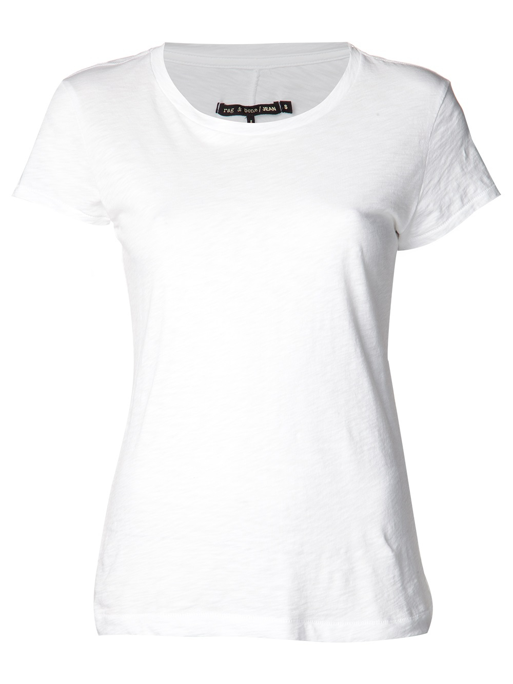 Rag bone 39 brando 39 t shirt in white lyst for Rag and bone t shirts