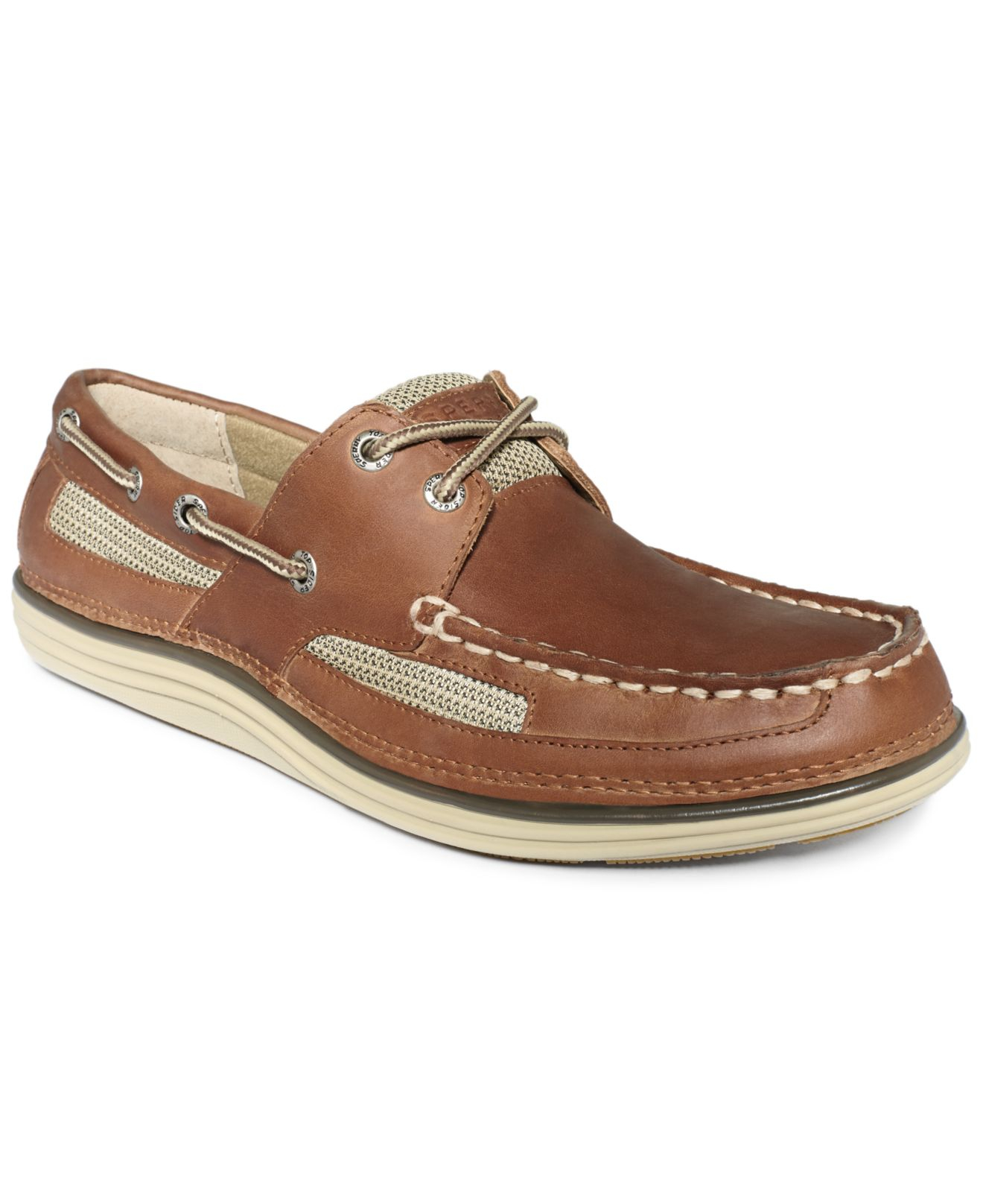 Brown Or Tan Boat Shoes