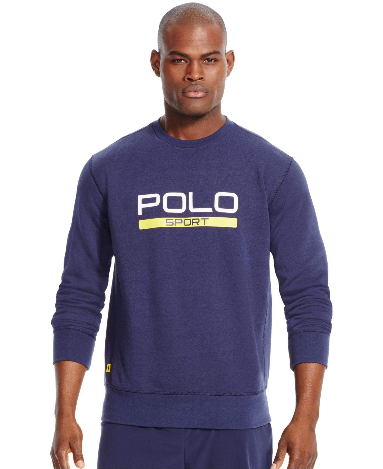 Polo ralph lauren Polo Sport Men's Fleece Crew Neck Sweatshirt in ...