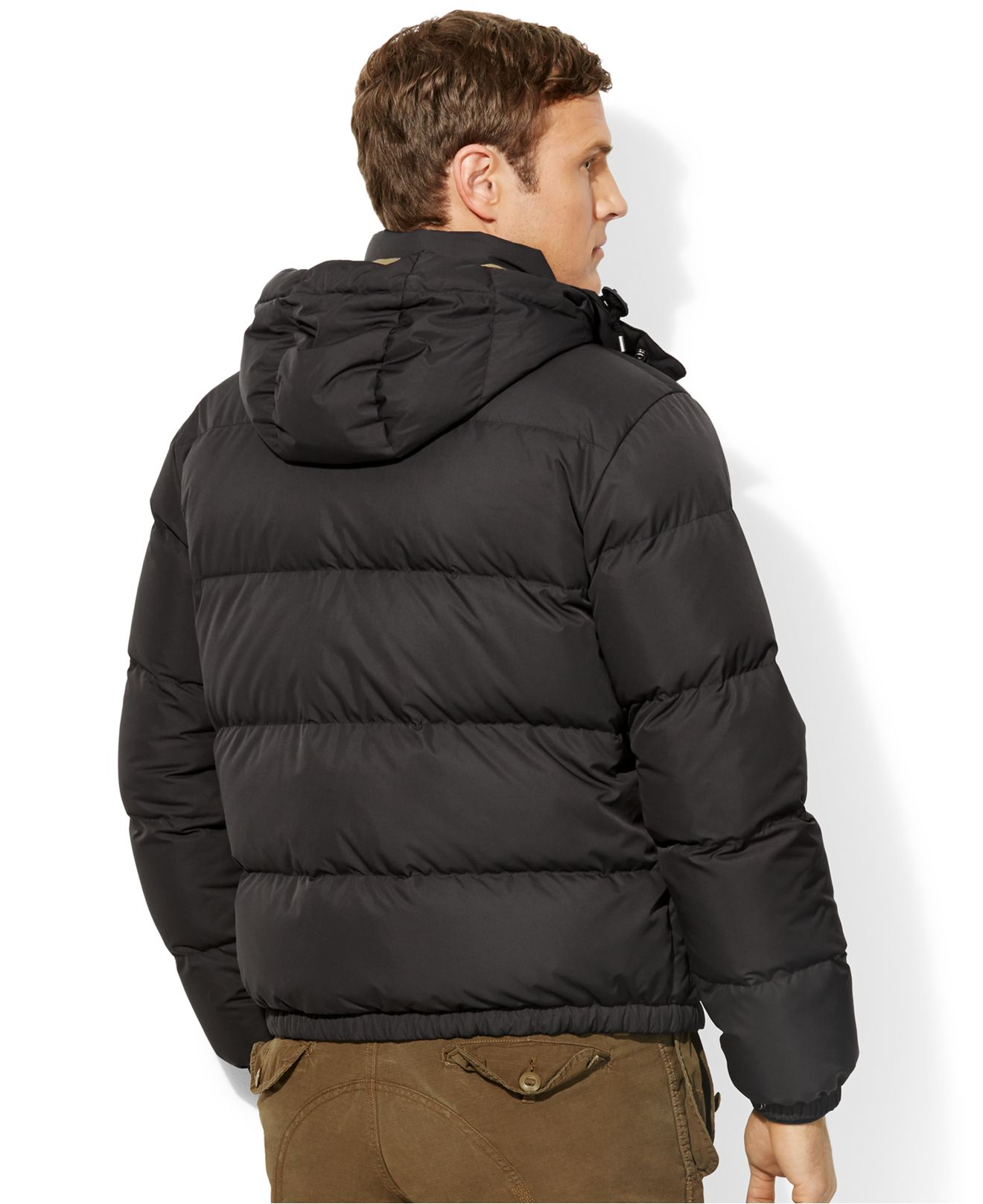 Black Jacket Big Puffer Men Down For Emwood Ralph Polo Lauren And Tall vwNm8n0