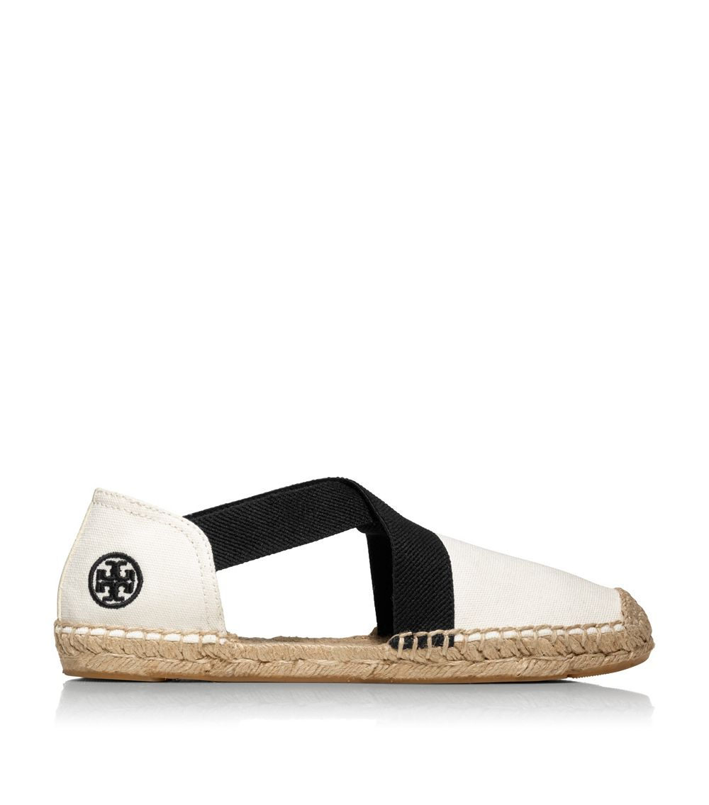 2344b09aa11a Lyst - Tory Burch Catalina Canvas Espadrille in White