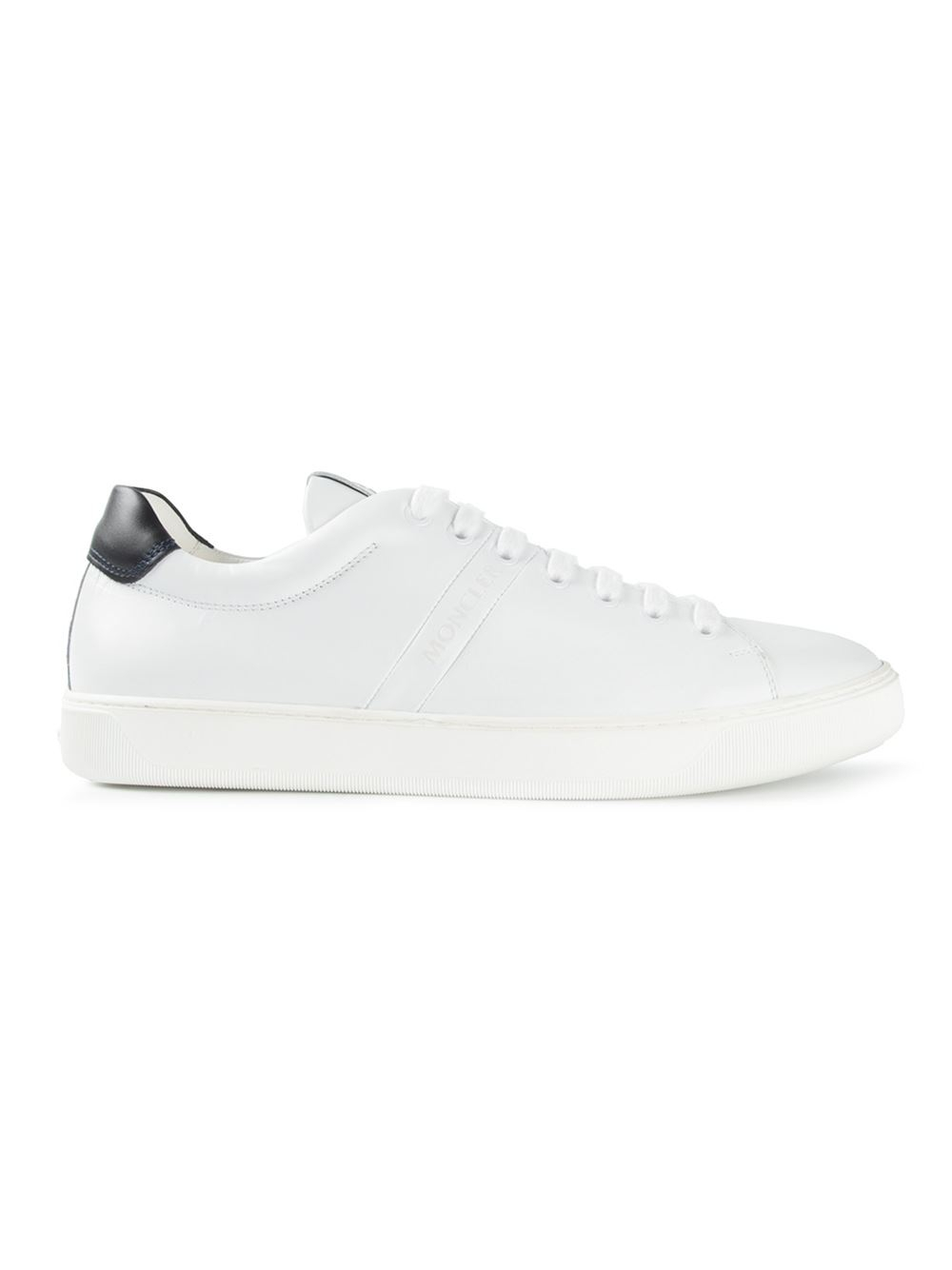 Moncler Vincent Leather Sneakers in