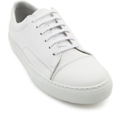 national standard white leather edition 3 sneakers in. Black Bedroom Furniture Sets. Home Design Ideas