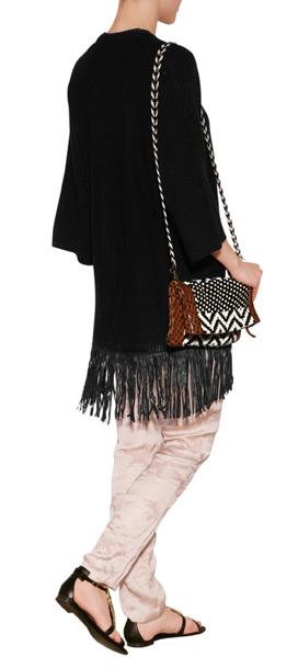 Black Long Cardigan Sweater