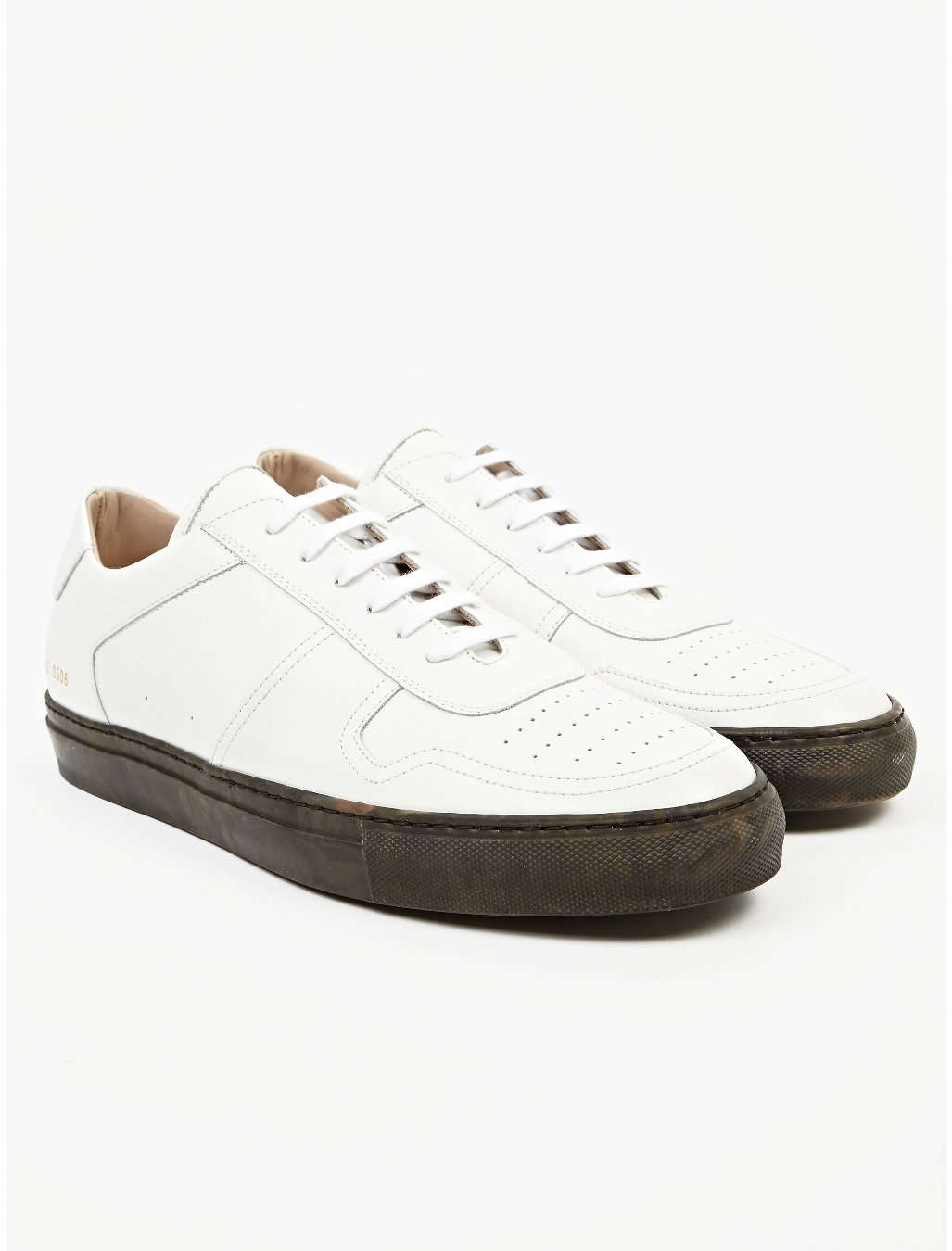 Common Projects Mens White Basketball Low Camo Pack Sneakers in White for Men | Lyst
