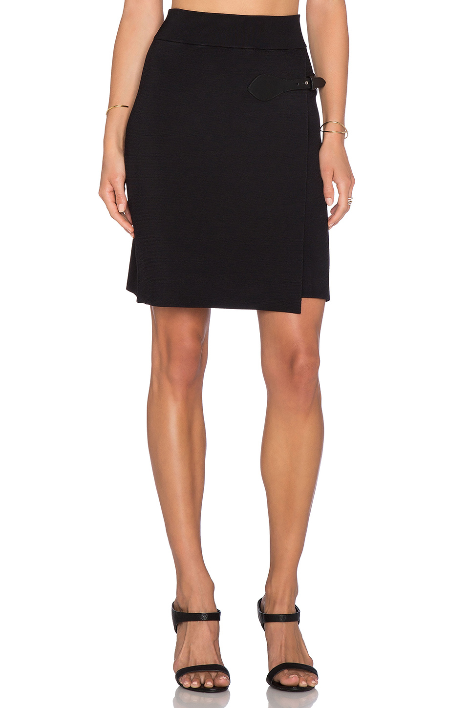 a l c sydney skirt in black lyst