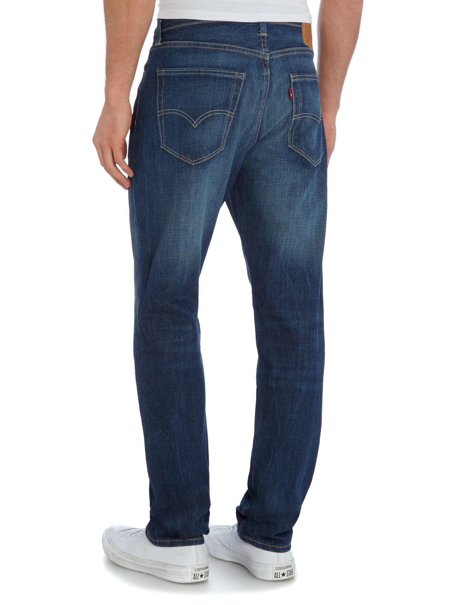 Levi's 522 Scandia Slim Taper Jeans in Denim (Blue) for Men