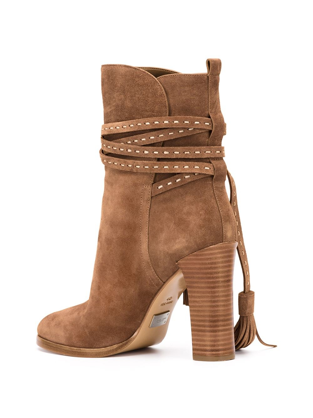 michael kors 180 palmer boots in brown lyst