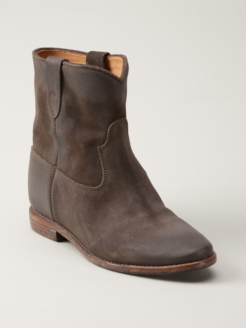 Lyst Isabel Marant Crisi Boot In Brown