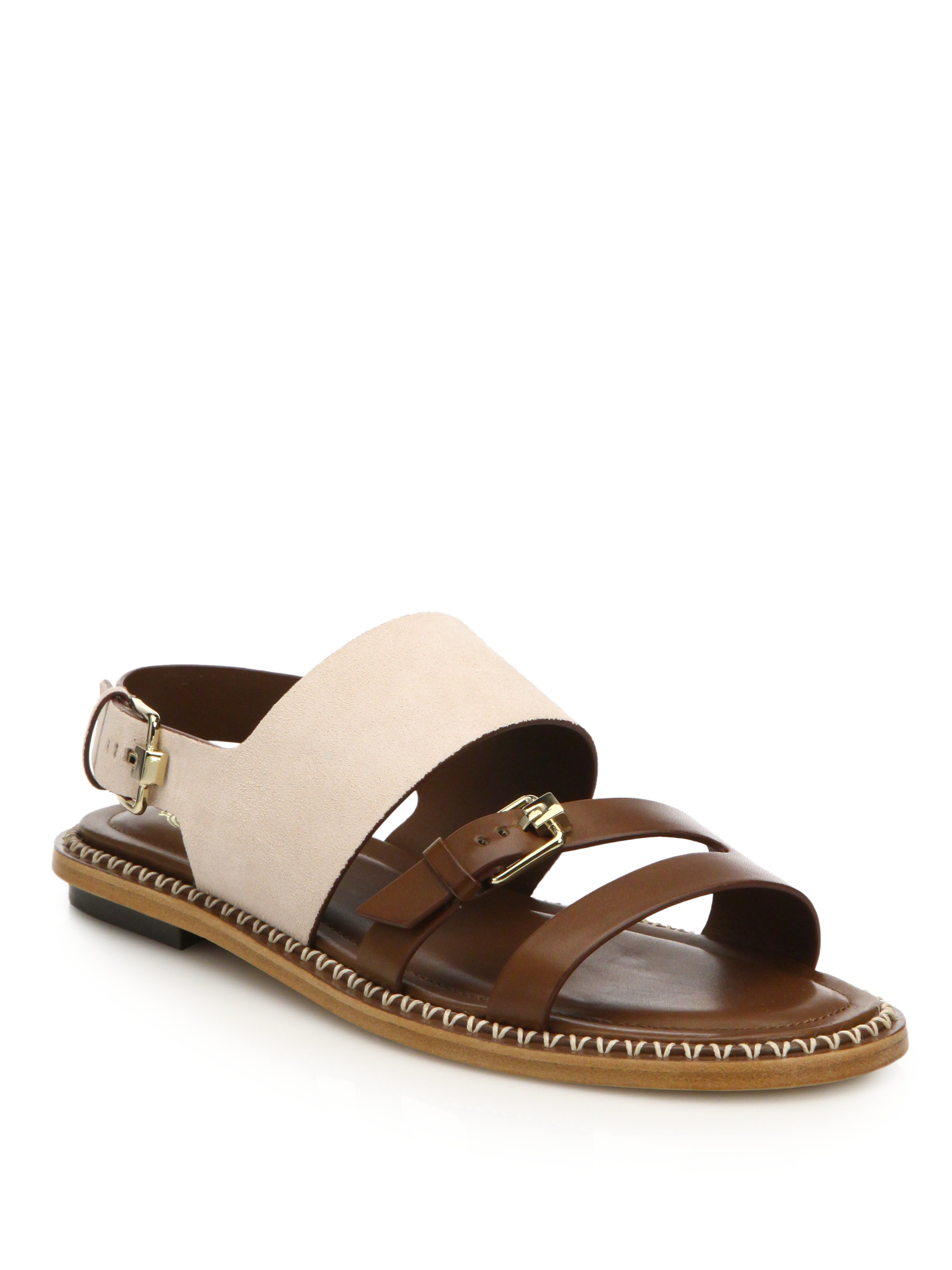 Leather sandals Tod's lRJy7mH