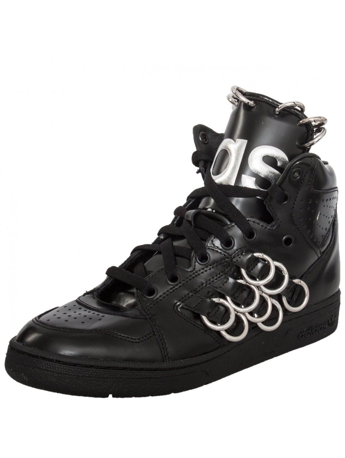 bcc05baa0bdb In For Jeremy Scott Adidas Black High Trainers Ring Instinct Top 4zCfwqnx5F