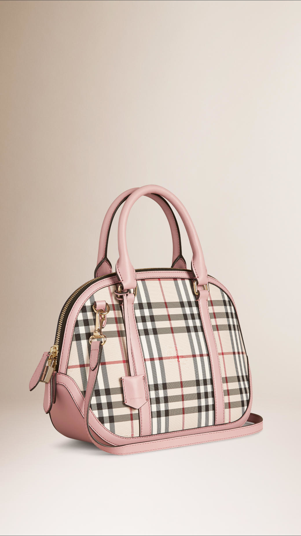 7f0e69c2d3cd Lyst - Burberry The Small Orchard In Horseferry Check