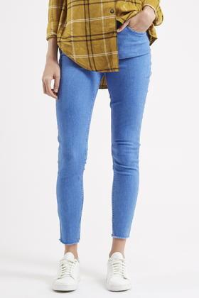 TOPSHOP Moto Bright Blue Jamie Jeans