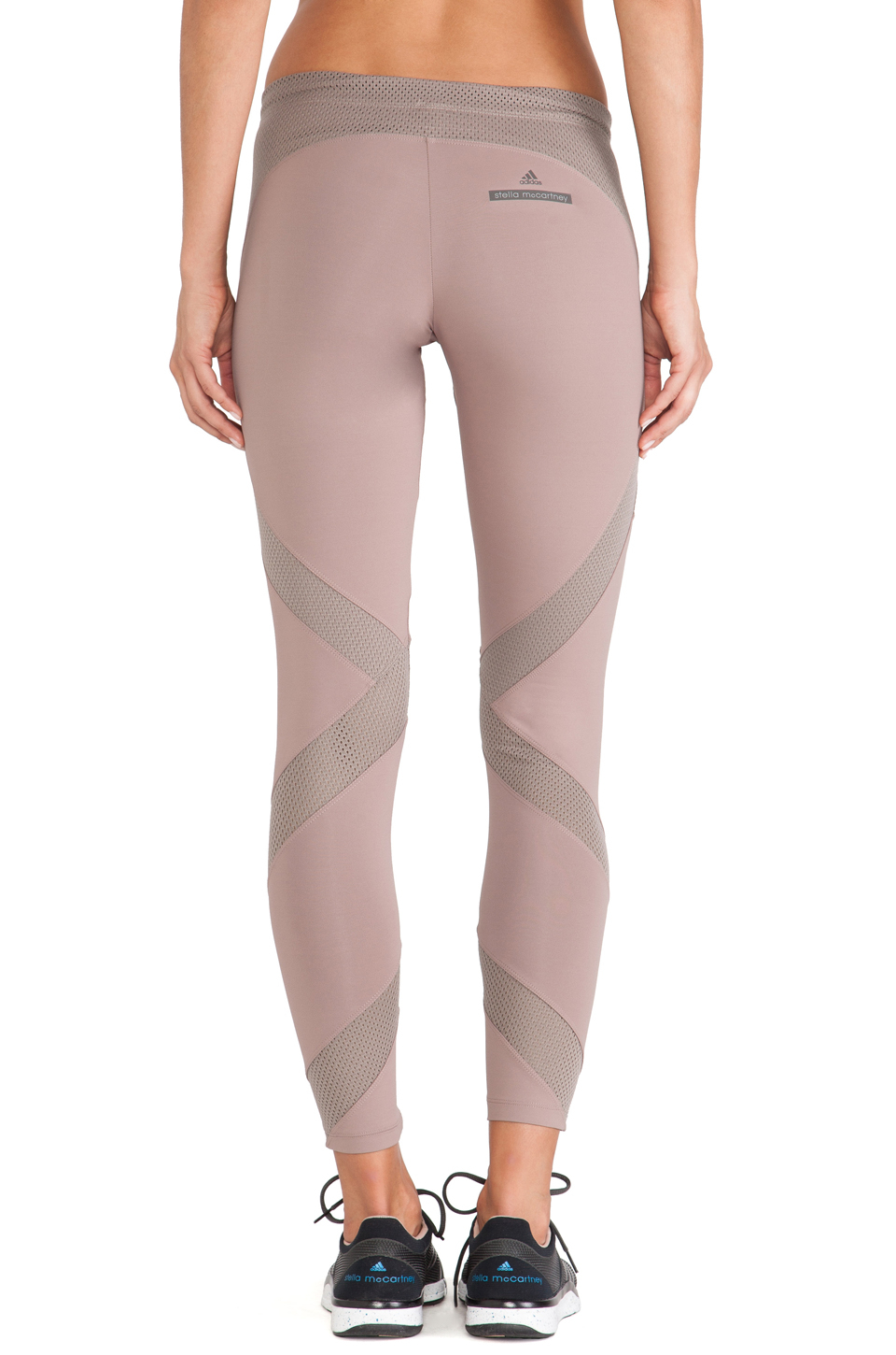 4d84d24ee810a Believe This Tights; Lyst - Adidas By Stella Mccartney Techfit Running  Tights in Pink ...