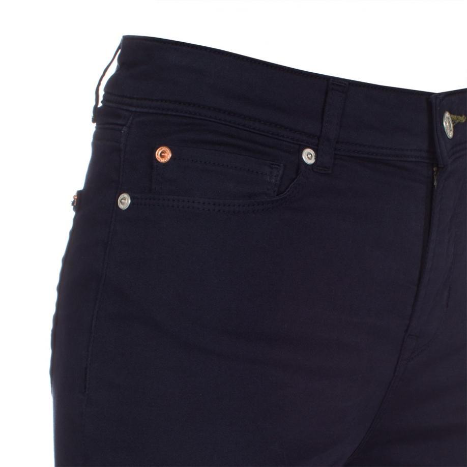 Paul smith Women's Navy Denim High-waisted Skinny Jeans in ...