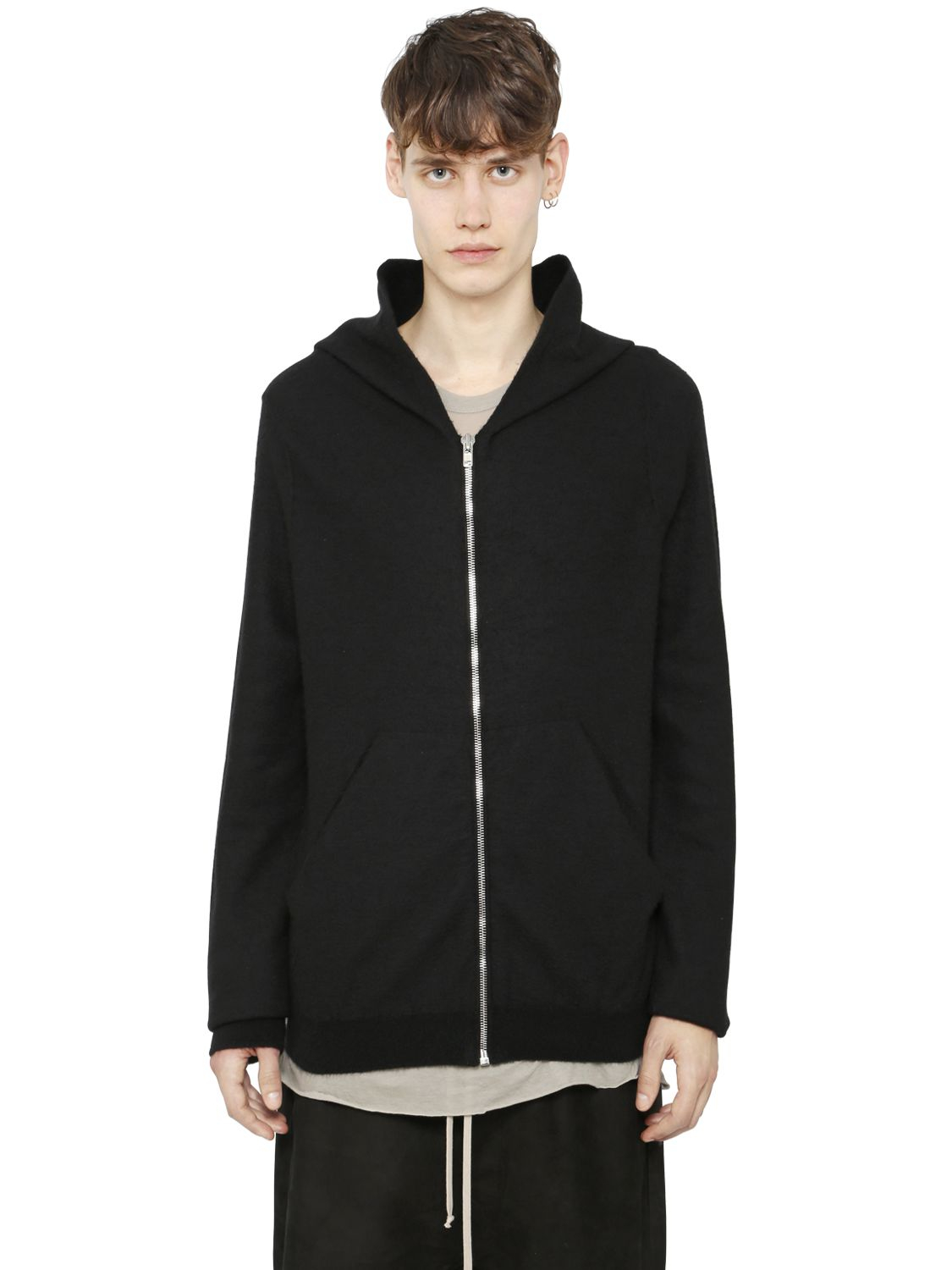 Cashmere Hooded Zip Cardigan 43